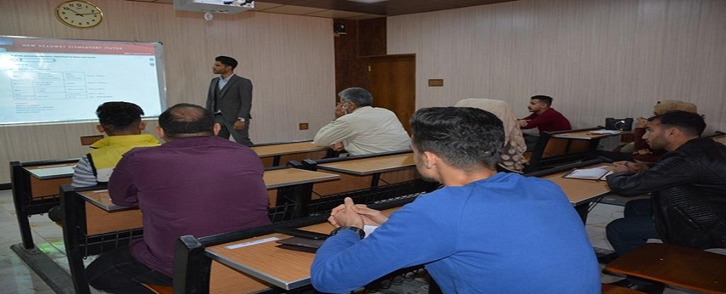 جامعة البصرة للنفط والغاز تنظم دورة تدريبية في تعلم اللغة الانكليزية