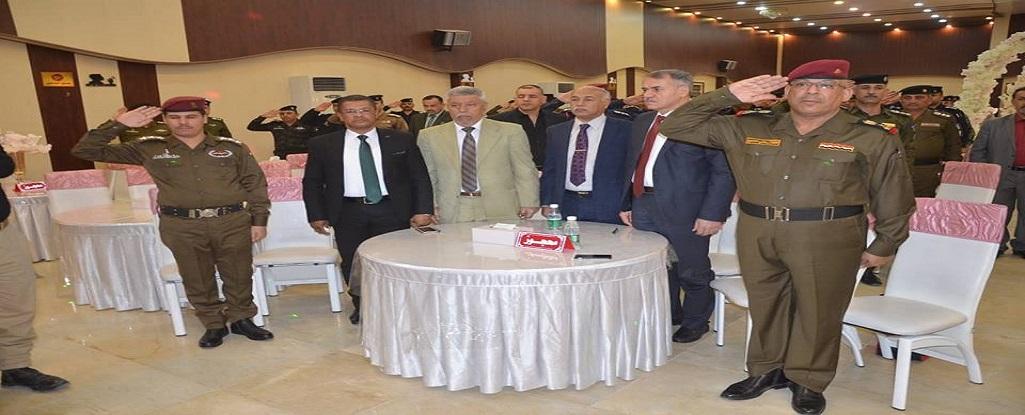 رئيس جامعة البصرة للنفط والغاز يحضر ورشة عمل لقيادة شرطة محافظة البصرة واطلاق مشروع التطوير الذاتي