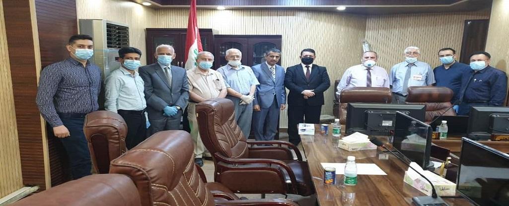 جامعة البصرة للنفط والغاز تشارك بالاجتماع الخاص بالجامعات الحكومية والاهلية في محافظة البصرة