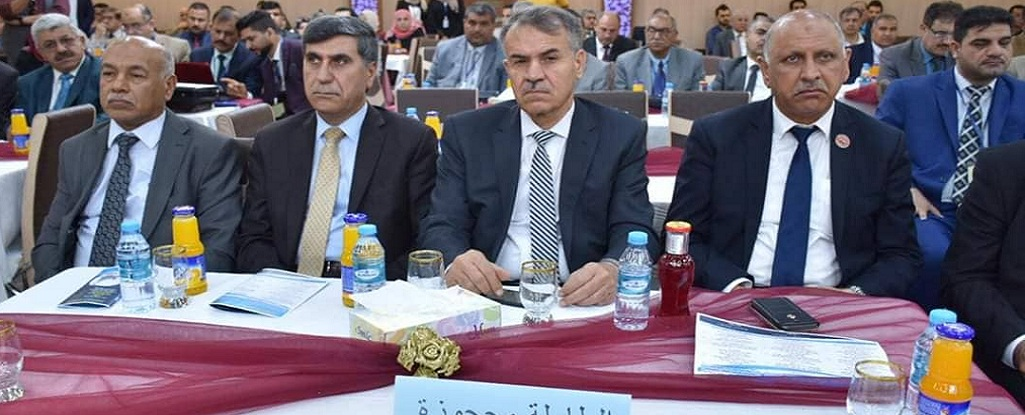 Chancellor and Vise-chancellor for Scientific Affairs attend the Fourth Scientific Conference at the University of Basra