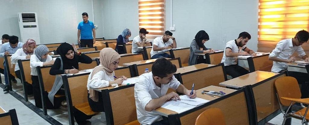 انطلاق الامتحانات الوزارية للصفوف المنتهية في كلية هندسة النفط والغاز للعام الدراسي 2018/ 2019