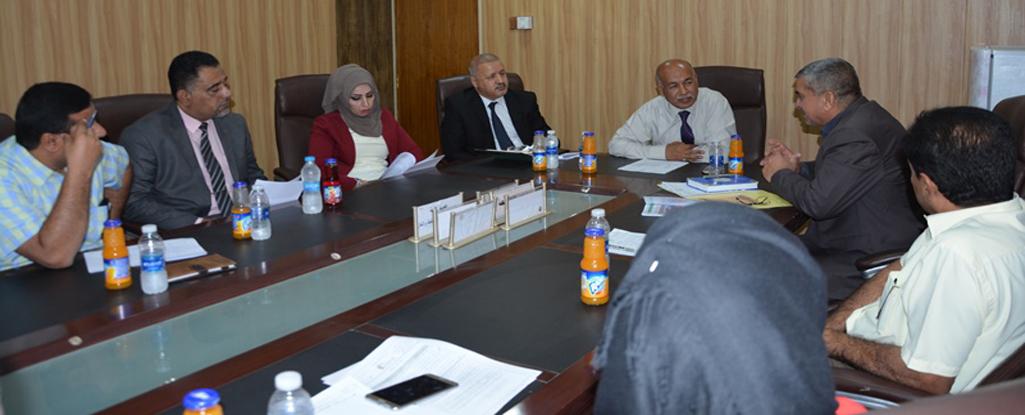 فريق العمل التطوعي في جامعة البصرة للنفط والغاز يعقد اجتماعه لبحث تنفيذ برامج تطوعية قادمة