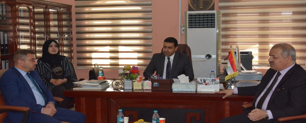 جامعة البصرة للنفط والغاز تستقبل اللجنة الوزارية للتخصصات الهندسية الخاصة بالتصنيف الوطني لجودة الجامعات