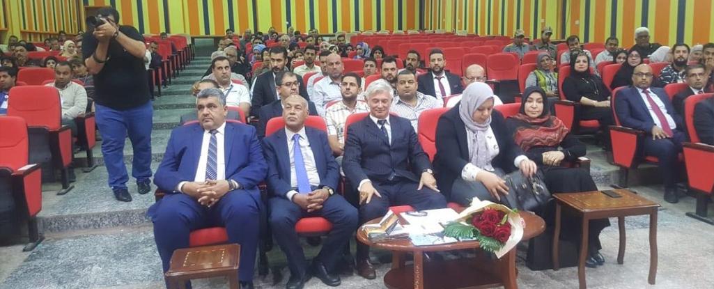 رئيس جامعة البصرة للنفط والغاز يشارك بحفل تنفيذ برنامج (إجادة) بحضور سفير الاتحاد الأوربي