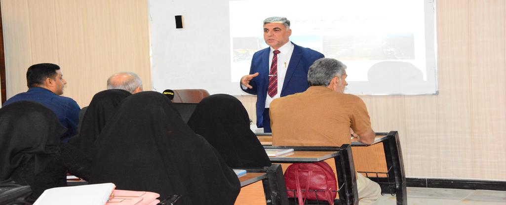 كلية الإدارة الصناعية للنفط والغاز تنظم حلقة نقاشة حول الآثار الاقتصادية لملوحة مياه شط العرب