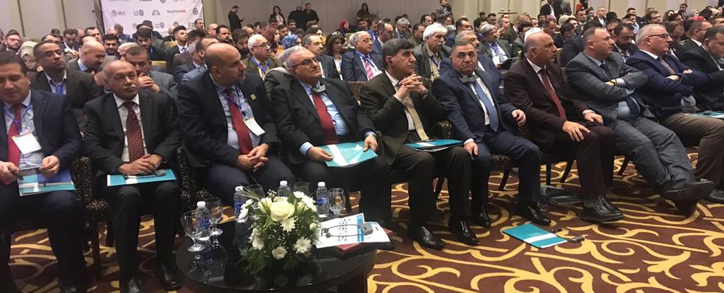 رئيس جامعة البصرة للنفط والغاز يشارك في فعاليات المؤتمر الدولي الاول لتطوير القوى العاملة