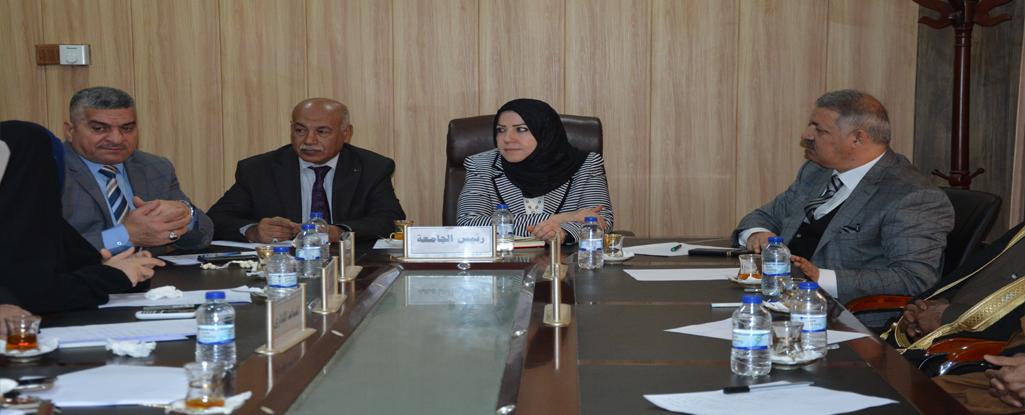 لجنة النفط والطاقة البرلمانية ولجنة التعليم العالي بالحكومة المحلية في زيارة لجامعة البصرة للنفط والغاز