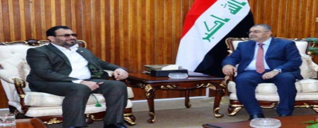 النائب فالح الخزعلي يلتقي وزير التعليم العالي و البحث العلمي في بغداد ويبحث معه دعم جامعة البصرة للنفط والغاز وملفات اخرى