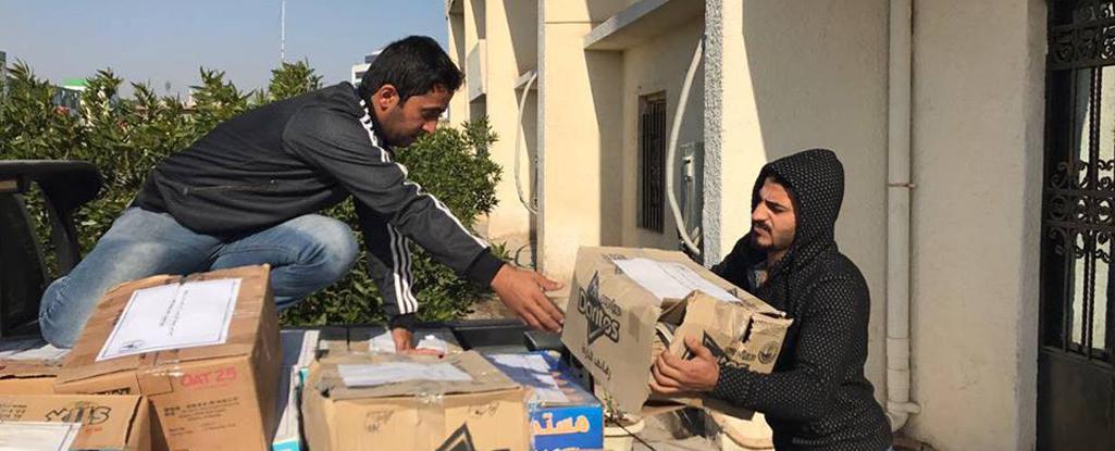 جامعة البصرة للنفط والغاز تتبرع بالكتب والمؤلفات الى مكتبة جامعة الموصل