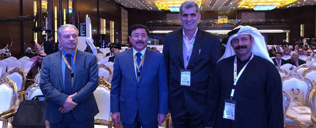 تدريسي من جامعة البصرة للنفط والغاز يشارك في مؤتمر الكويت الدولي لإعادة اعمار العراق