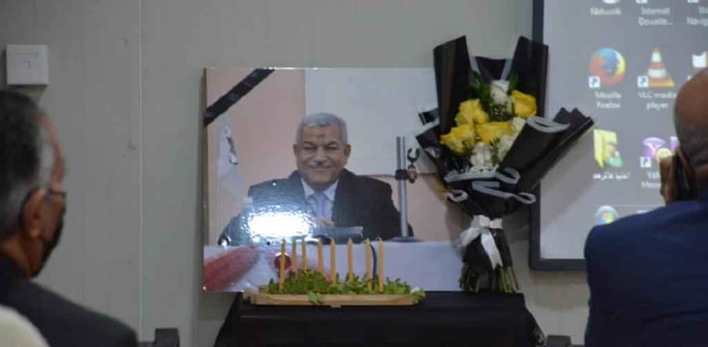 كلية هندسة النفط والغاز تقيم مجلسًا تأبينًا على روح الاستاذ الدكتور  عبد الزهرة خضير رحيم