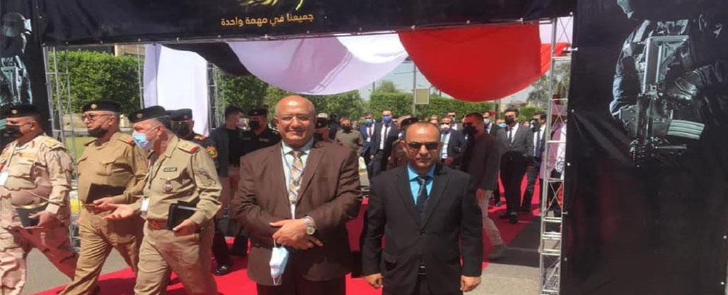 السيد رئيس جامعة البصرة للنفط والغاز يشارك في انطلاق فعاليات معرض مكافحة الاٍرهاب والعمليات الخاصة والأمن السبراني