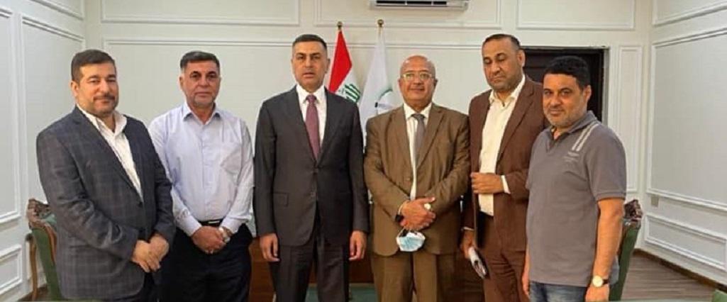 وفد من جامعة البصرة للنفط والغاز  يلتقي محافظ البصرة لبحث سبل دعم الجامعة